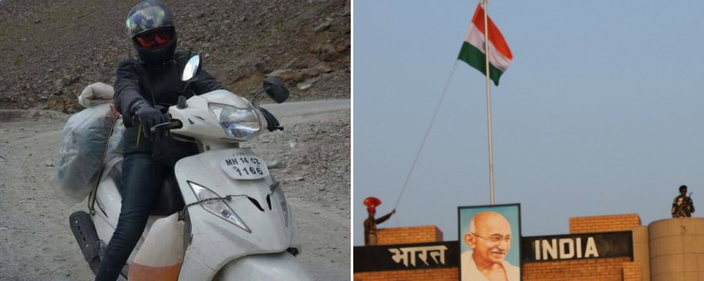 A Girl's solo road trip in india