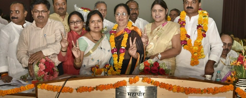 Swearing-in Ceremony For East Delhi Municipal Corporations 22 May-2017