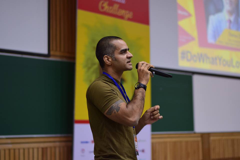 Darius at the 8th Young India Challenge