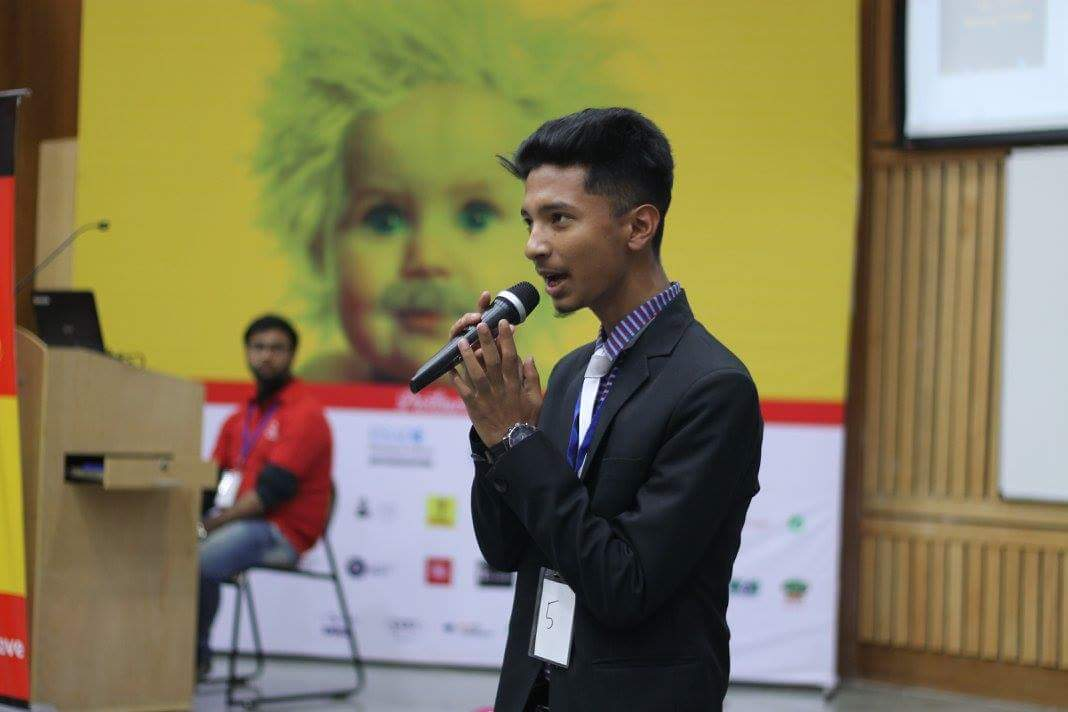 Amlan Jyoti Khanikar at the 8th Young India Challenge