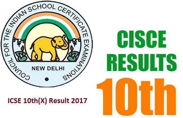ICSE 10th Result 2017