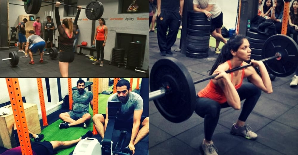 Non gender-based workouts at 303 Crossfit Drive