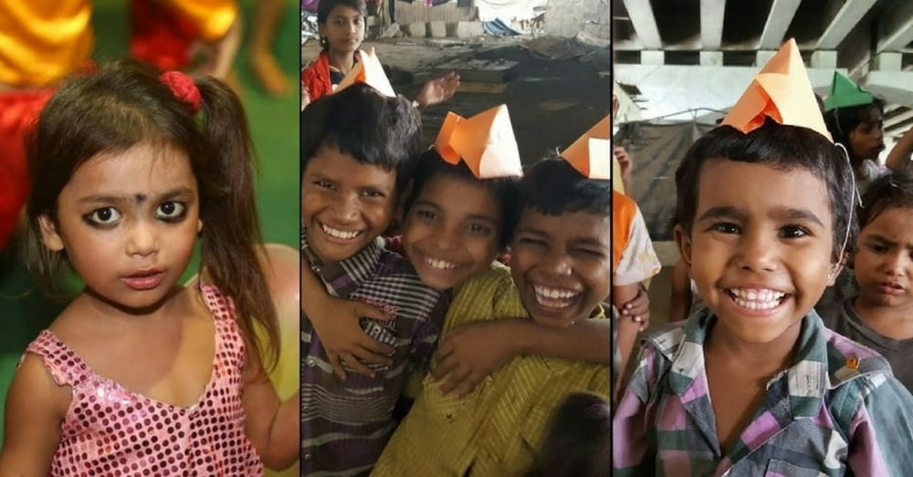 Street Children Rida Ali volunteers with