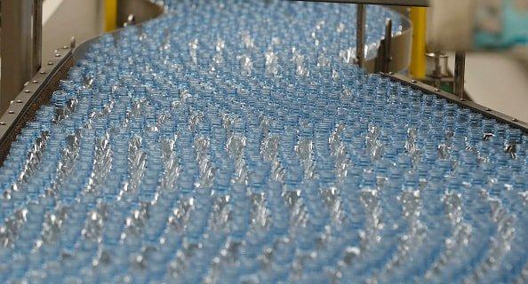 Plastic Bottles manufactured at Coca Cola bottling plant