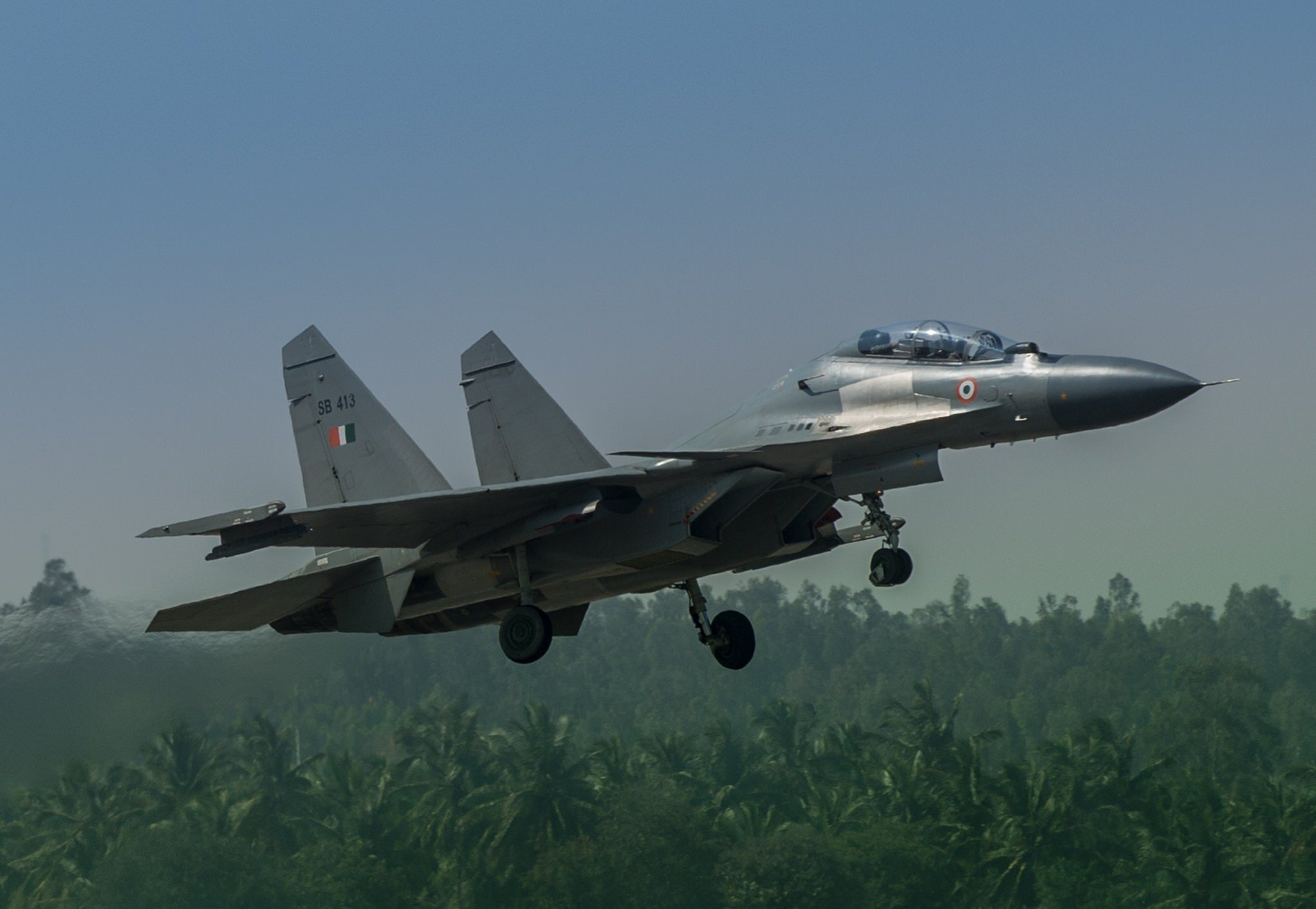 Russian Fighter Jet Sukhoi 30 MKI