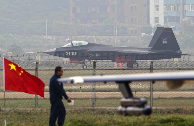 Chinese J-31 stealth fighter Jet