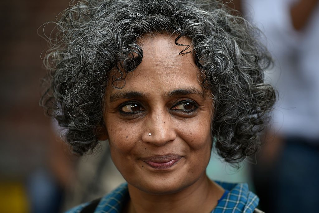 Arundhati Roy. Photo by Vipin Kumar/Hindustan Times via Getty Images.