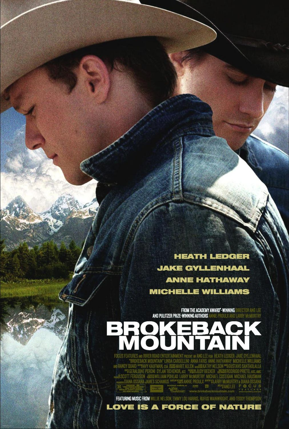 """Brokeback Mountain"" film poster"