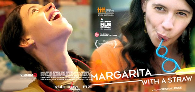 """Margarita with a Straw"" film poster"