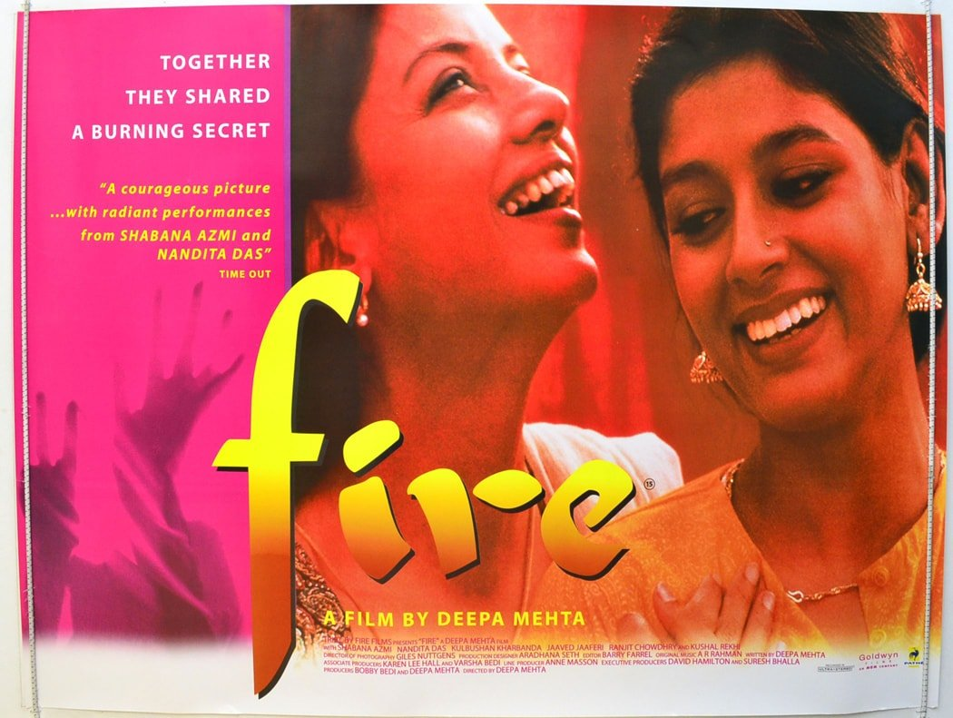 """Fire"" film poster"
