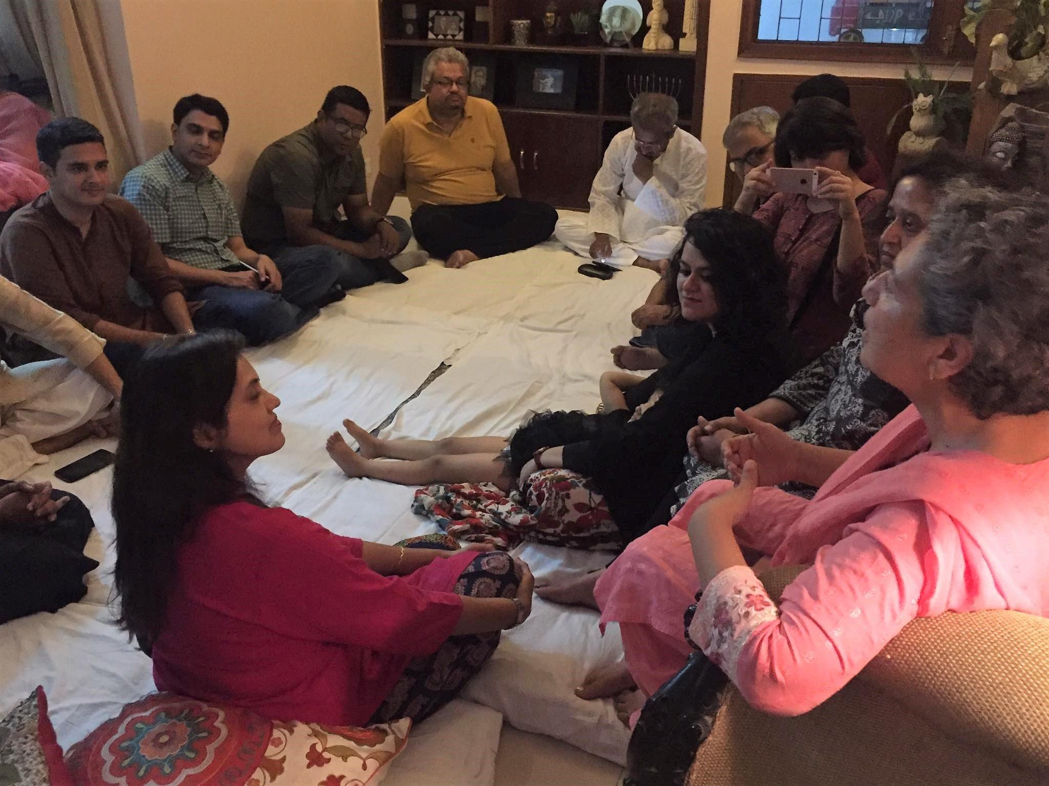 Interfaith Iftar party