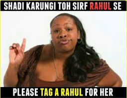 Academy Award-nominee Gabourey Sidibe in an offensive 'Tag A Rahul' meme