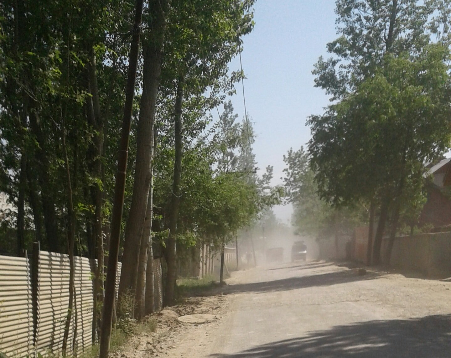 Air pollution in Budgam