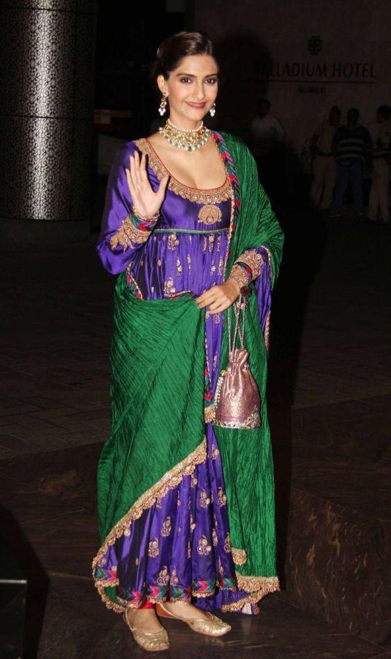 Monsoon Anarkali Fashion
