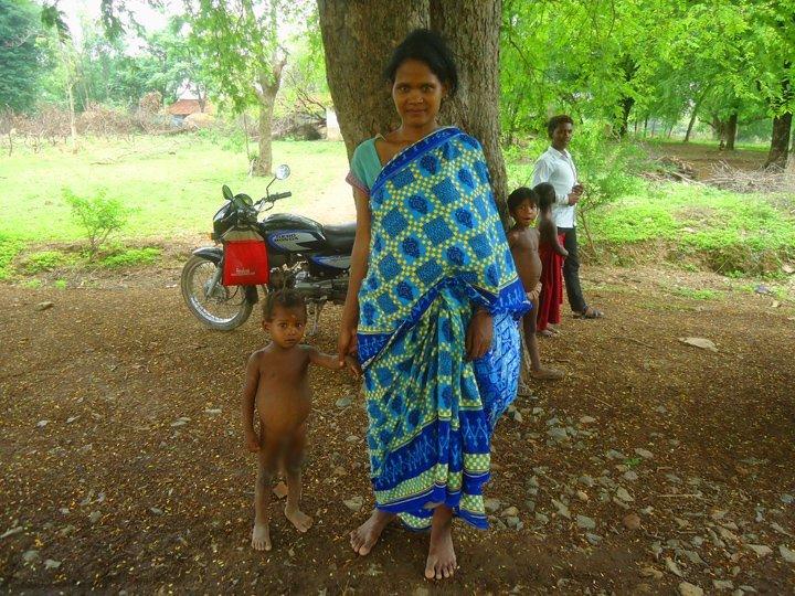 Saranda tribal woman of Jharkhand