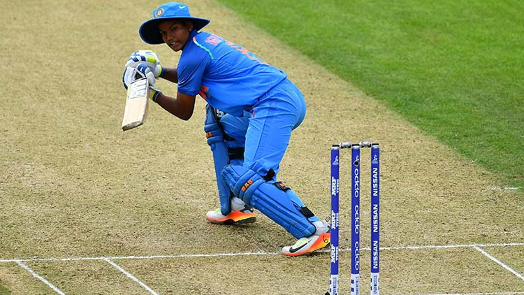 Indian Cricketer Deepti Sharma In ICC Women's World Cup Against Srilanka
