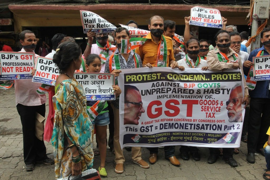States opposing the GST