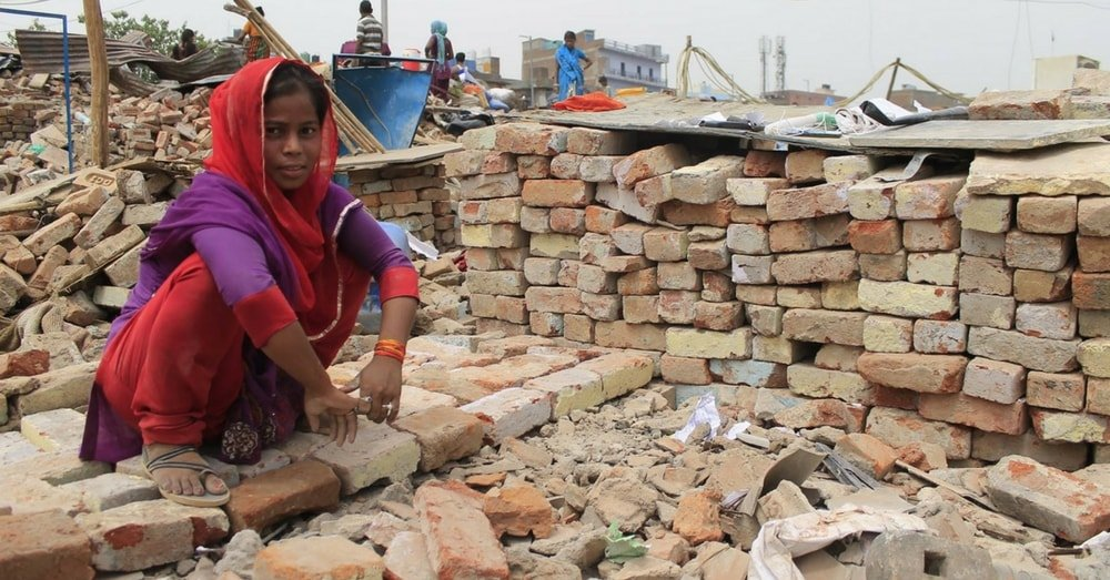 Baljeet Nagar Slum of West Delhi Demolished By DDA