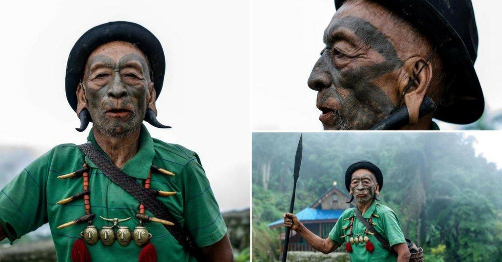 Manyam, a headhunter in Nagaland