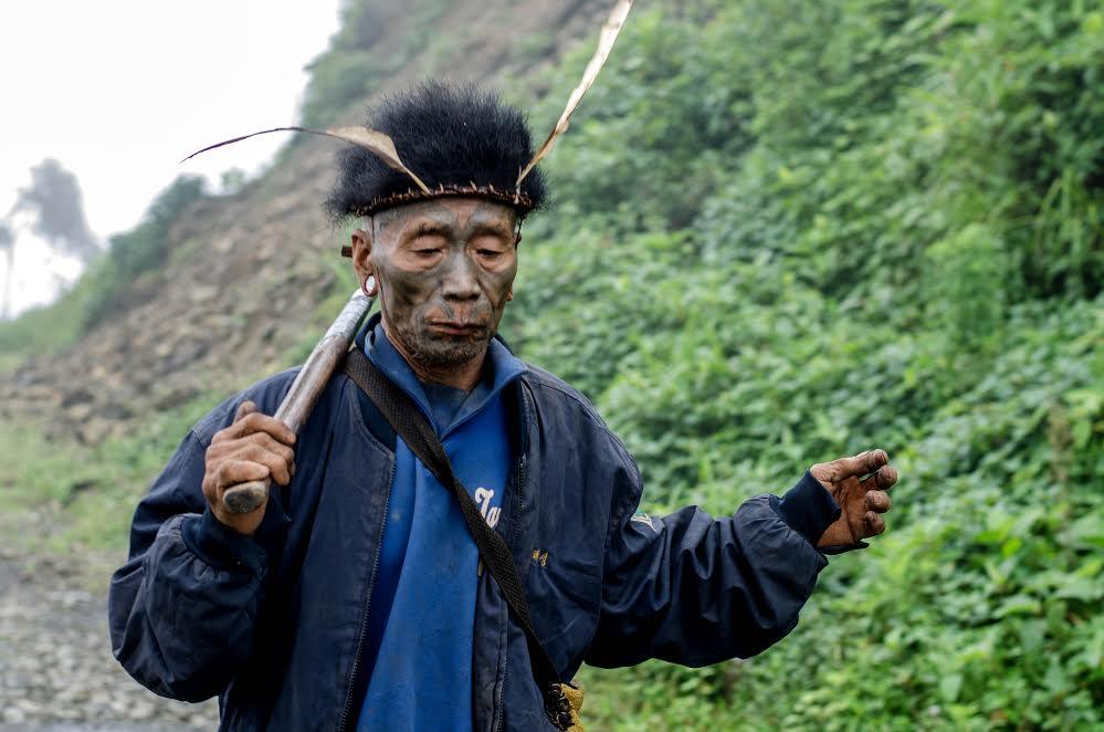 A Konyak warrior