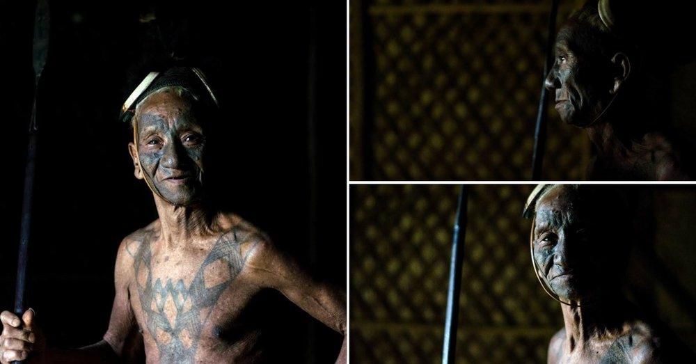 Chopa, the oldest warrior in Lungwa