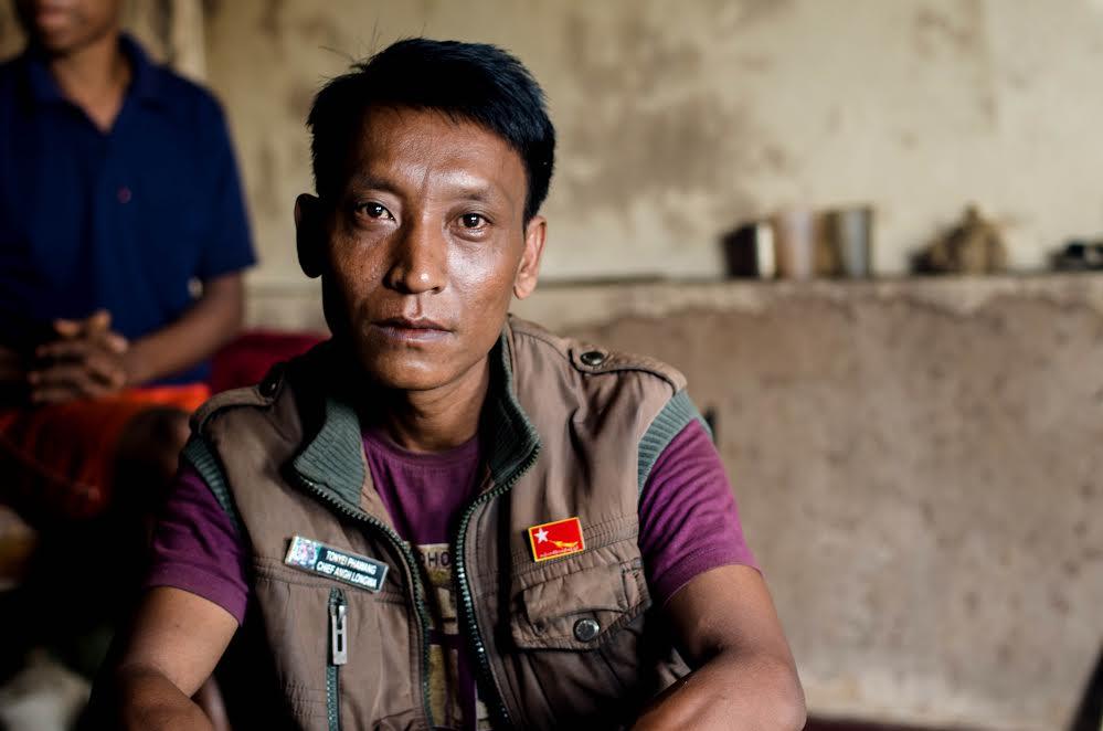 Tonyei, the 'Chief' of Lungwa village