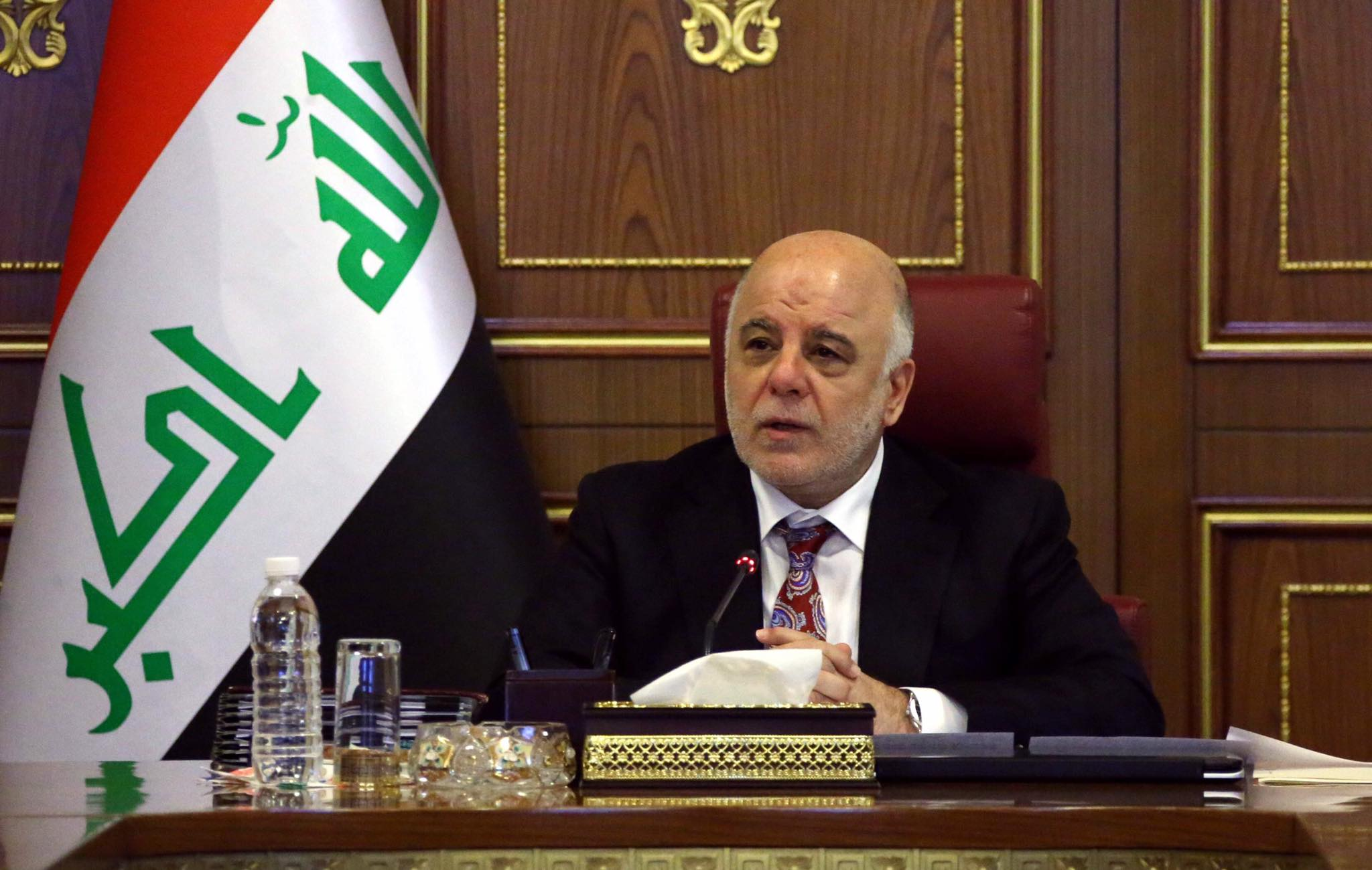 Iraq Prime Minister Haider Al Abadi In Office