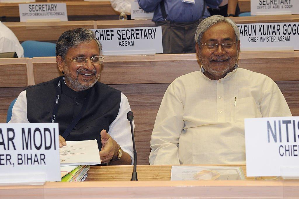 Nitish Kumar & Sushil Modi