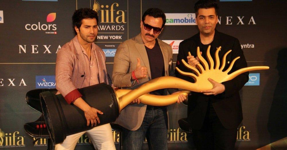 IIFA Awards 2017; Karan Johar, Saif Ali Khan & Varun Dhavan