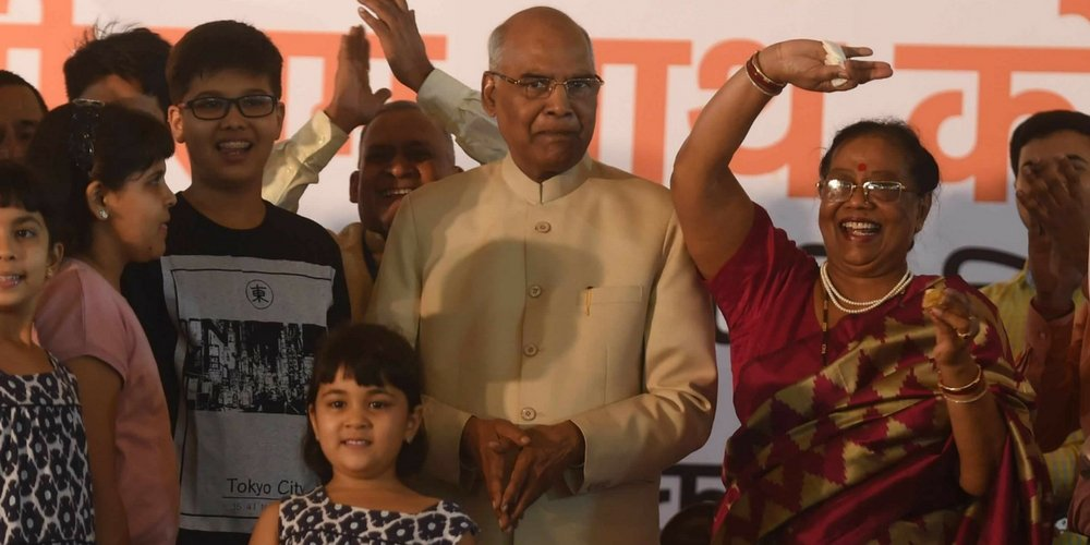 President RamNath Kovind In A Function in Delhi