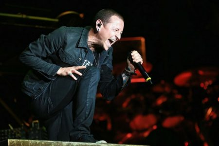 Chester Bennington, the frontman of the American rock band Linkin Park. Source: Getty Images