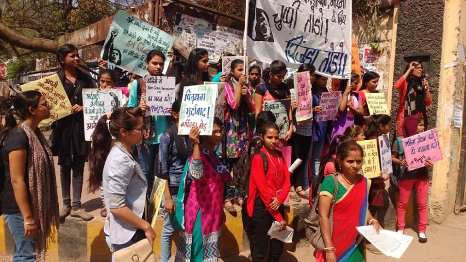 Pinjra Tod Movement In Patna