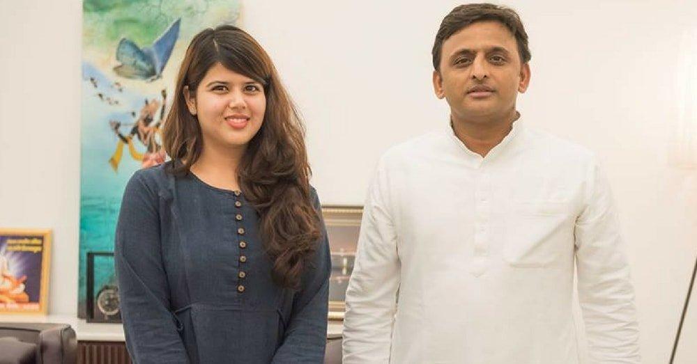 SP Spokesperson Pankhudi Pathak
