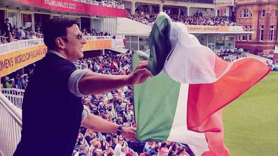 Akshay Kumar and tricolor controversy during ICC women's worldcup final