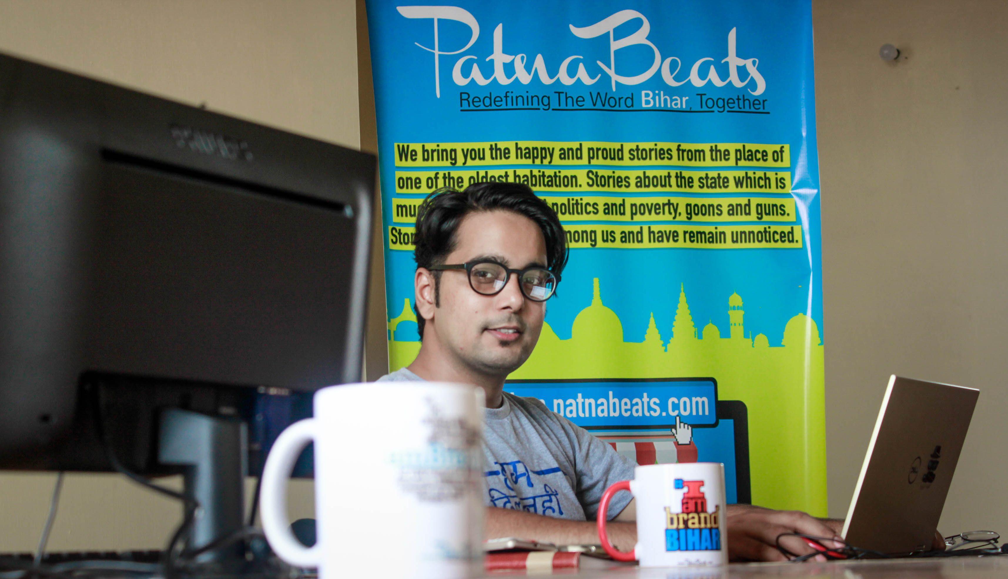 Founder Of PatnaBeats Bashshar Hbibullah