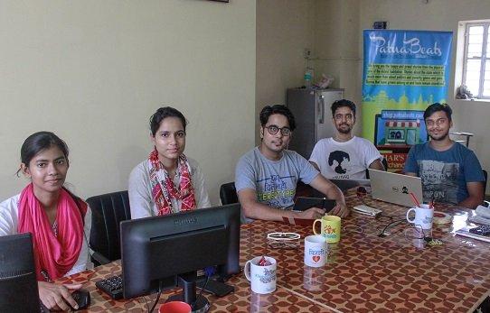 Bashshar With The Team Of PatnaBeats