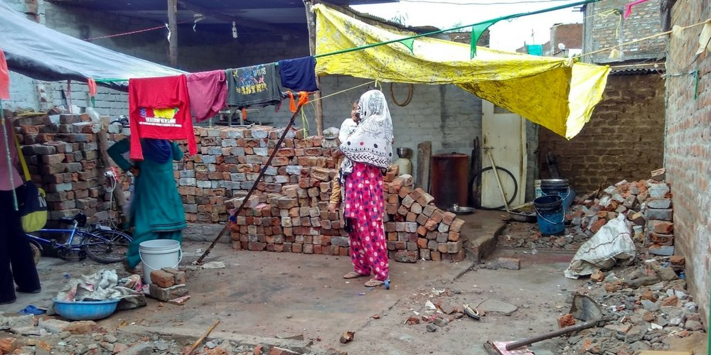 Taufiq's House Demolished By Nagar Nigam And Police