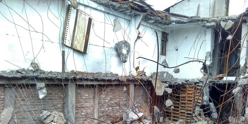 Babar's House in Indore Demolished By Authorities