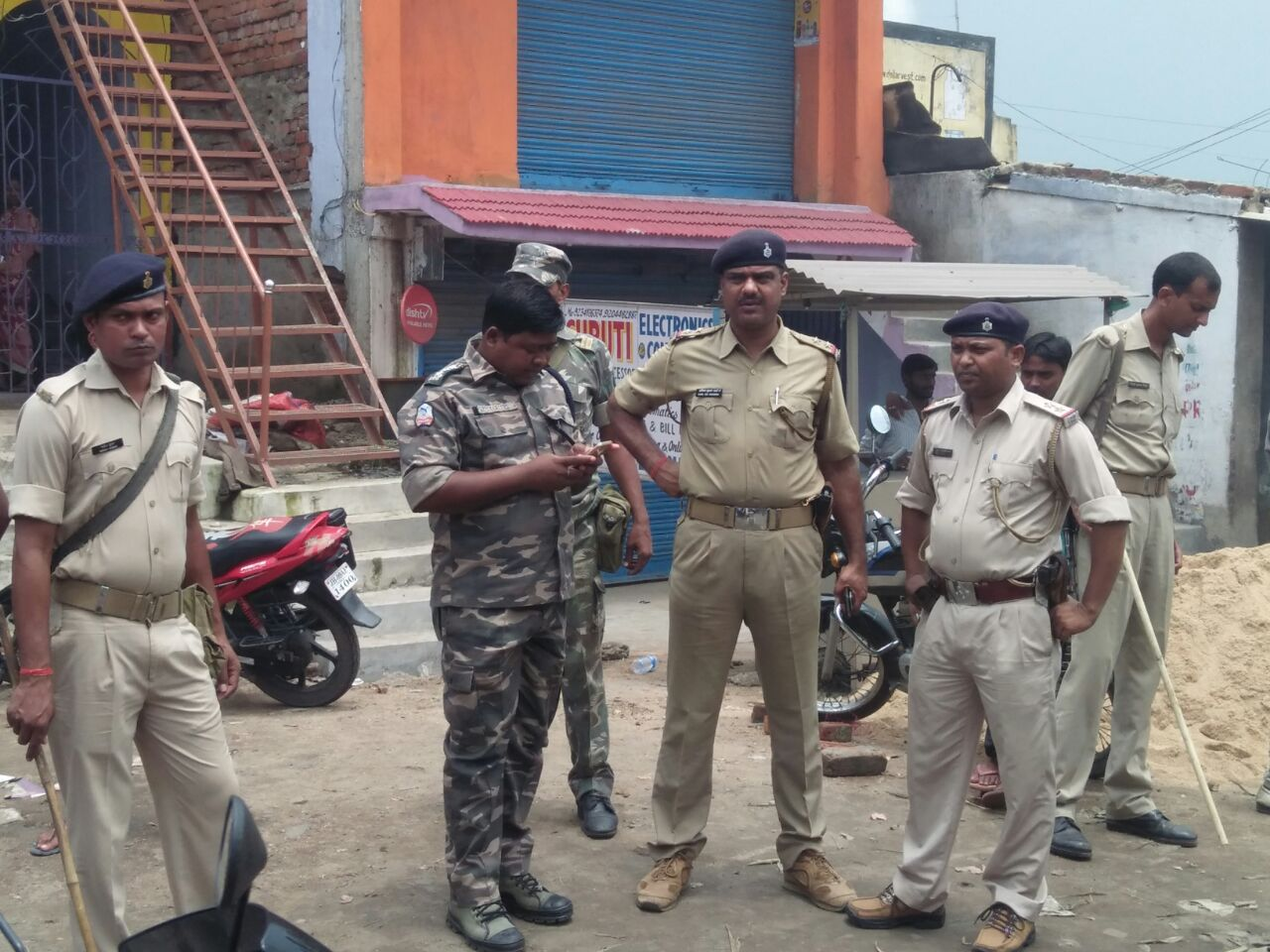 Police On Wher Bokaro Mob Lynching Happened