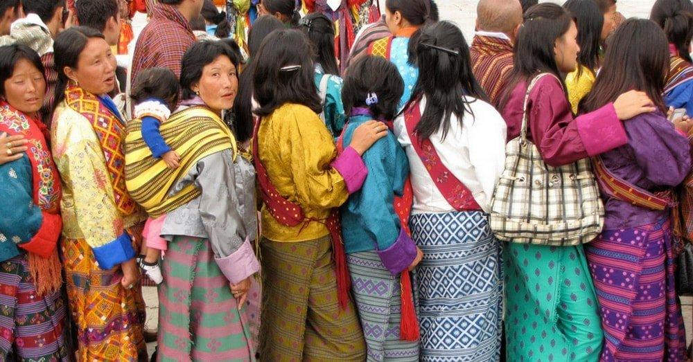 women-of-bhutan