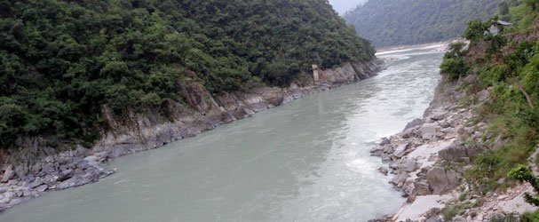 Mahakali River Where Pncheshwar Dam Is Proposed