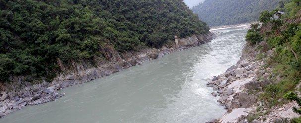 Mahakali River Where Pncheshwar Dam Is Proposed