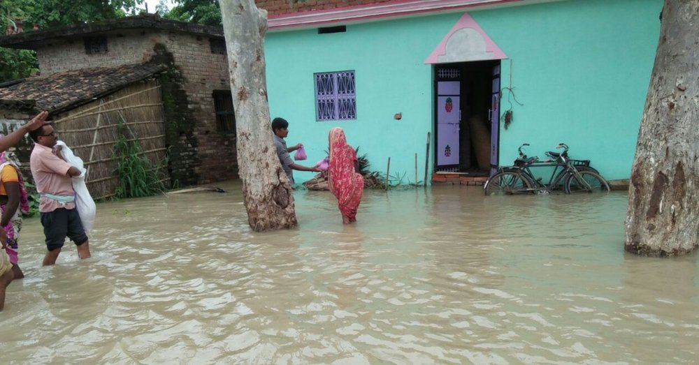 bihar flood in 2017