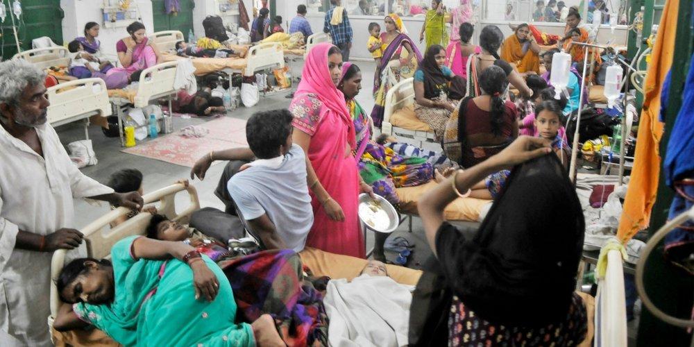Encephalitis Ward of A Gorakhpur Hospital