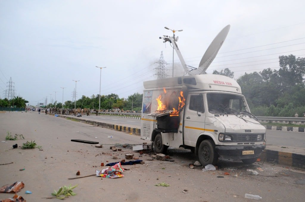 PCI Condemns Violence Against Media In Panchkula
