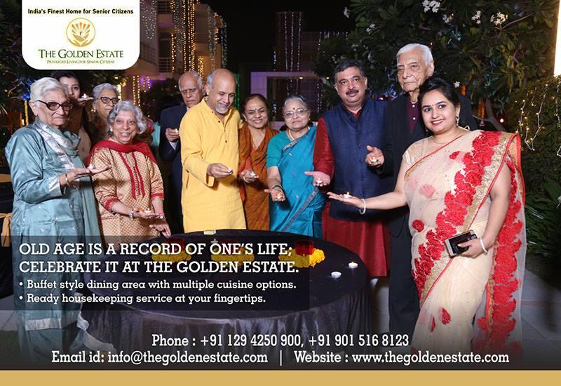 Senior living residential community