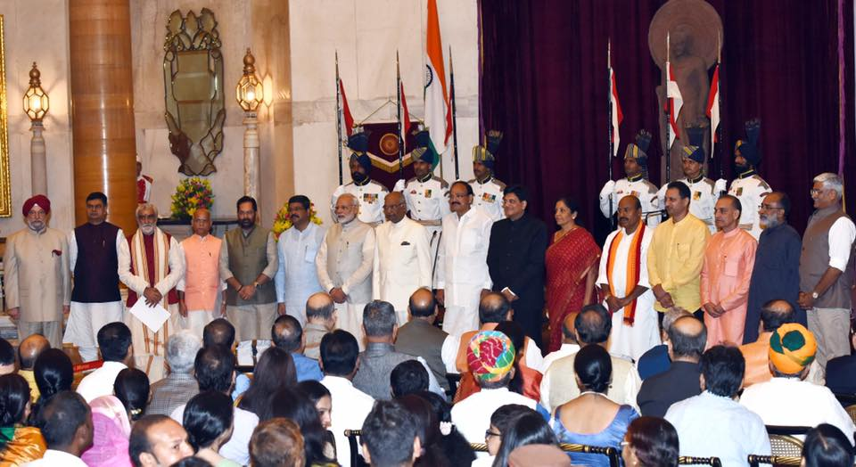 Ministers Taking Oath After Cabinet reshuffle