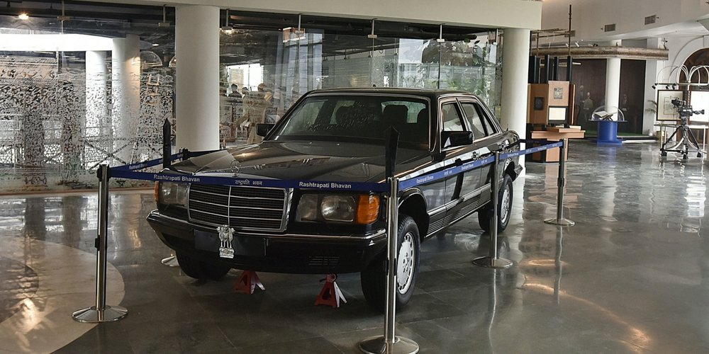 Mercedes Car In Raashtrapati Bhavan Museum