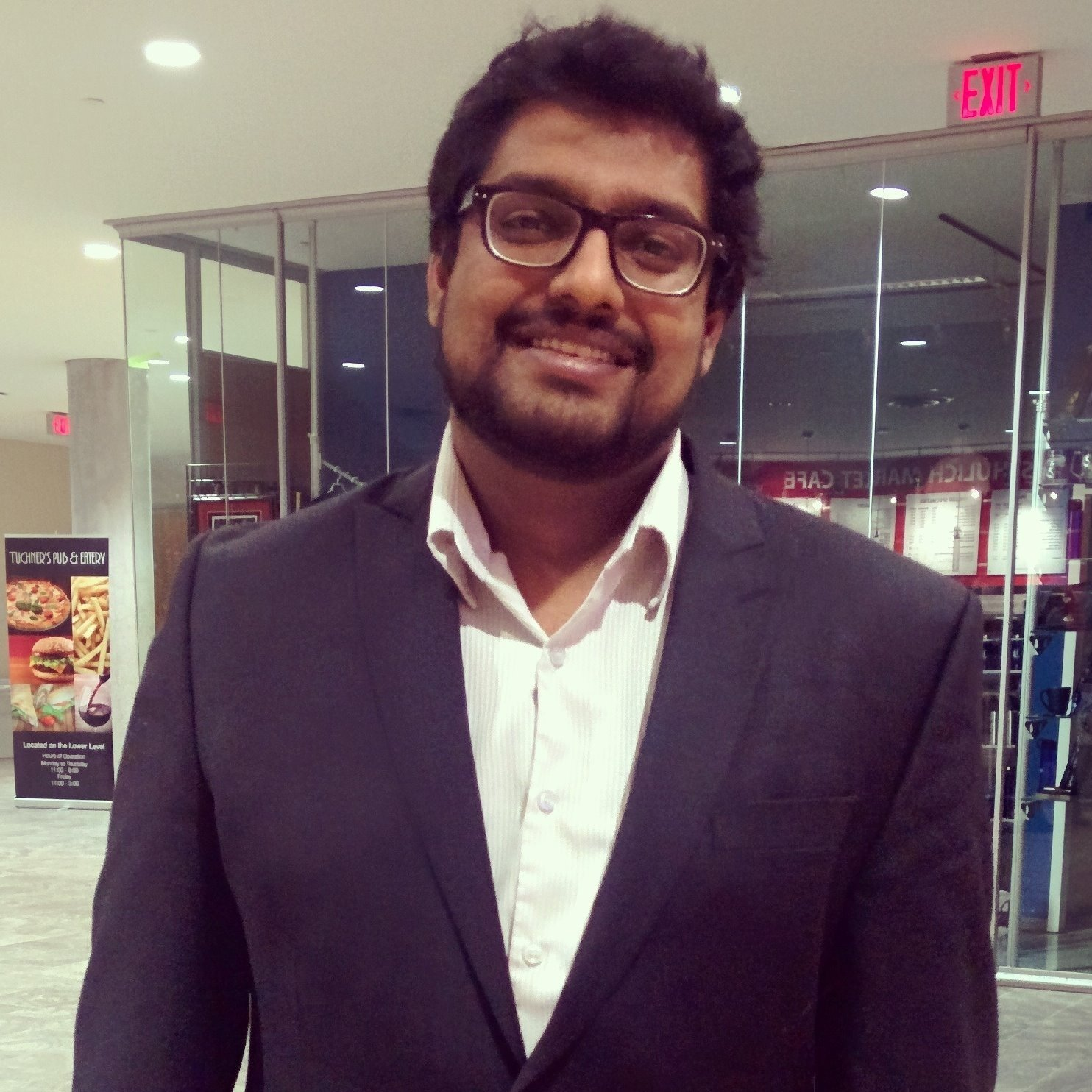 Suyash at Schulich marketplace