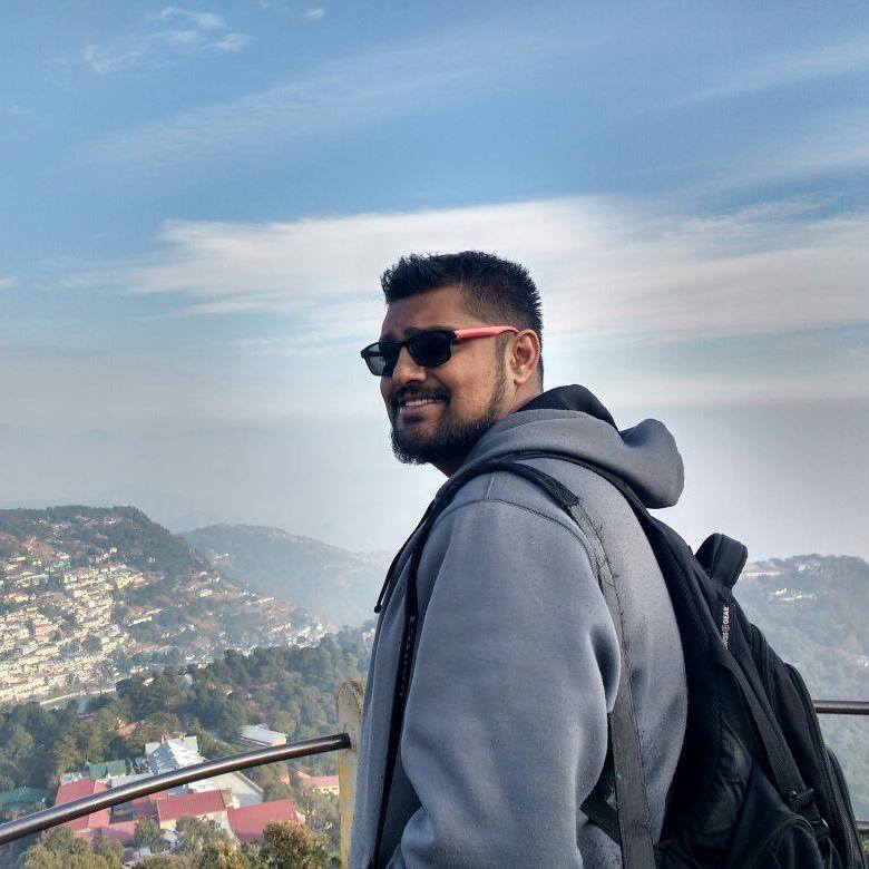 Suyash at Tiffin Top, Nainital